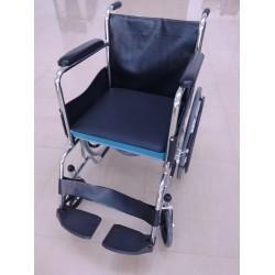 Folding Commode Wheelchair