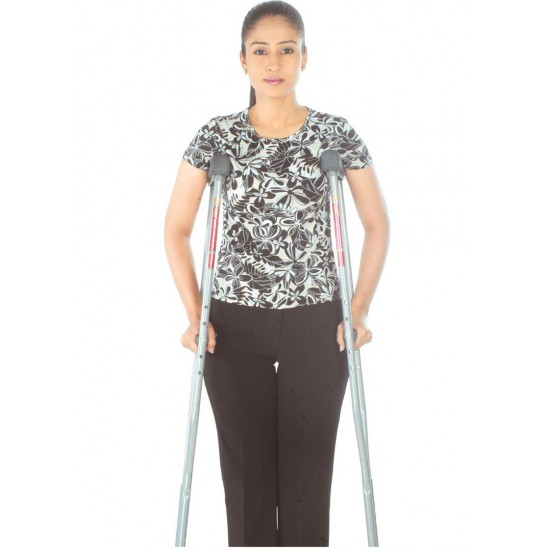 Adjustable Crutches Aluminium