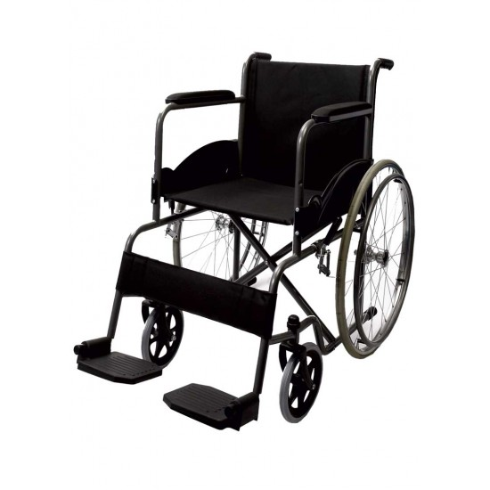 Black Magic Wheelchair With Spoke Wheel