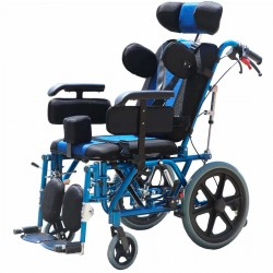 Cerebral Palsy CP Pediatric Multifunction Wheelchair 18 Inch Seat