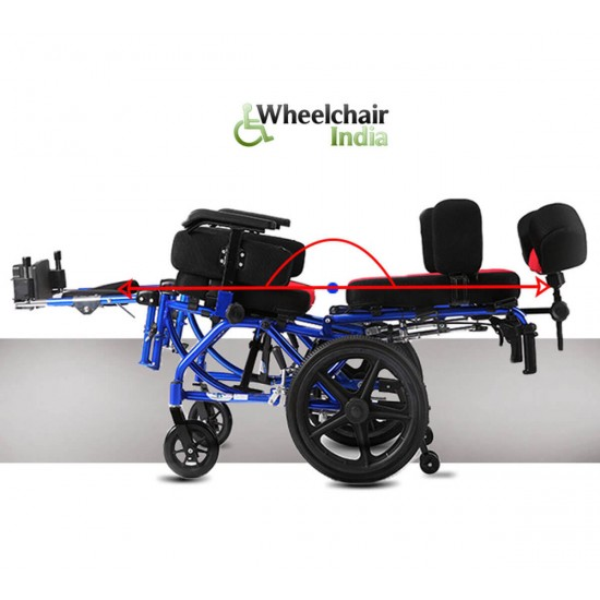 Cerebral Palsy Wheelchair 16 Inch Seat