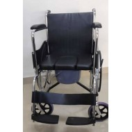Commode Wheelchair U Cut Seat
