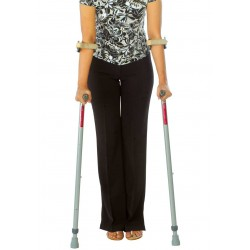 Elbow Crutch With Double Folding Handle