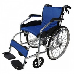 Foldable Aluminum Wheelchair
