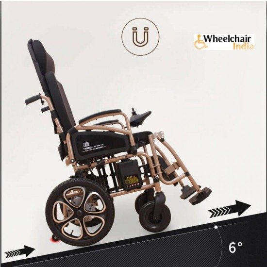 Folding Lightweight Mobility Electric Power Wheelchair