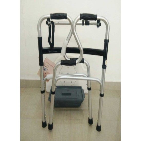 Folding Walker With Commode 2999 Walker For Senior