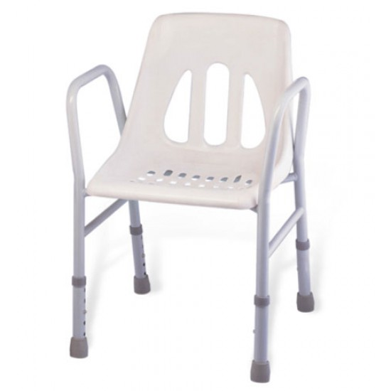 Height Adjustable Anti Slip Shower Chair