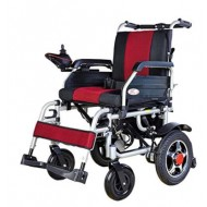Lightweight Foldable Power Wheelchair On Rent