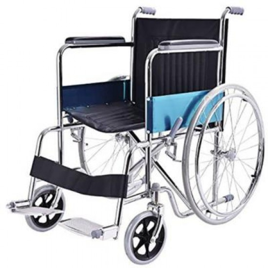Lightweight Folding Manual Wheelchair on Rent Rs 100/Day Only For Indore