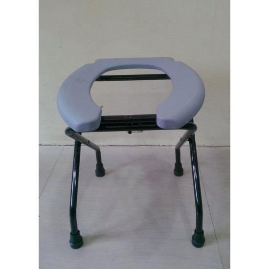 Open Front Commode Stool