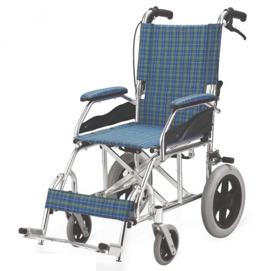 Portable Aluminum Folding Wheelchair