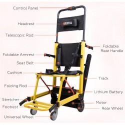 Portable Stair Climbing Wheelchair