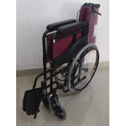Premium Basic Wheelchair Powder Coated