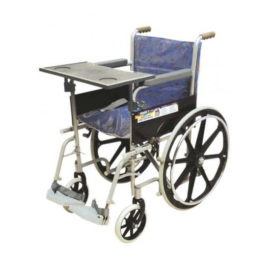 Regular Wheelchair Mag Wheel With Eating and Writing Board