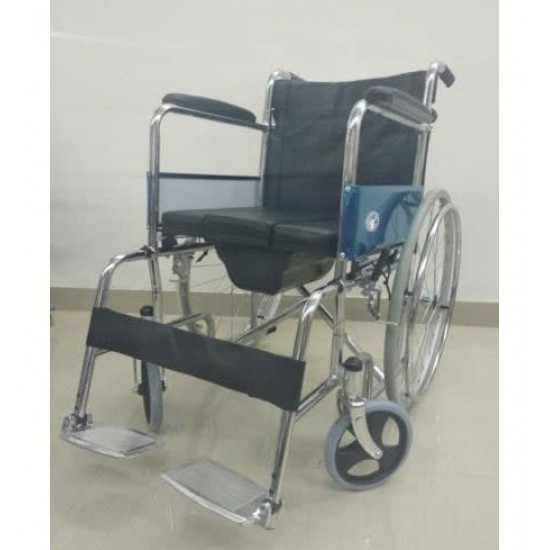 Removable Commode Bucket Wheelchair