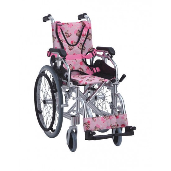 Self Transporting Pediatric Wheelchair for Kids