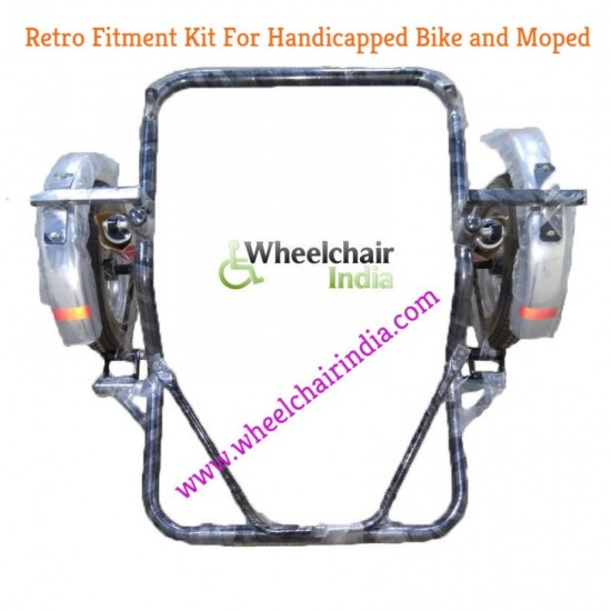Side Wheel Attachment Kit For TVS Wego