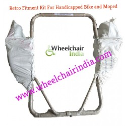 Side Wheel Attachment Kit For TVS Wego