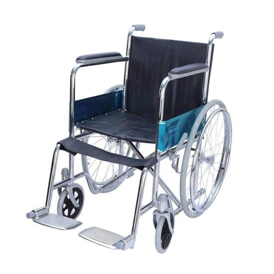 Spoke Wheel Folding Wheelchair