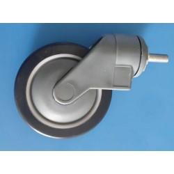 Thread Type Heavy Duty 360-Degree Rotatable 5 Inch Fiber caster Wheels