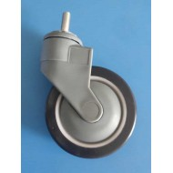 Thread Type Heavy Duty 360-Degree Rotatable 5 Inch Fiber caster Wheels