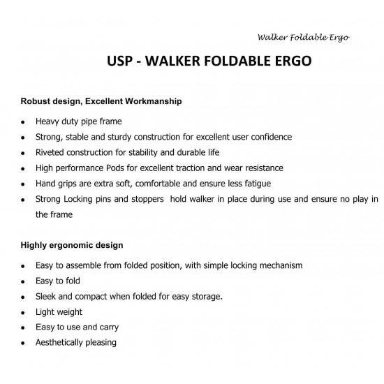Tynor Walker Foldable Ergo