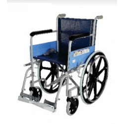Vissco Classic Wheelchair With Fixed Big Wheels
