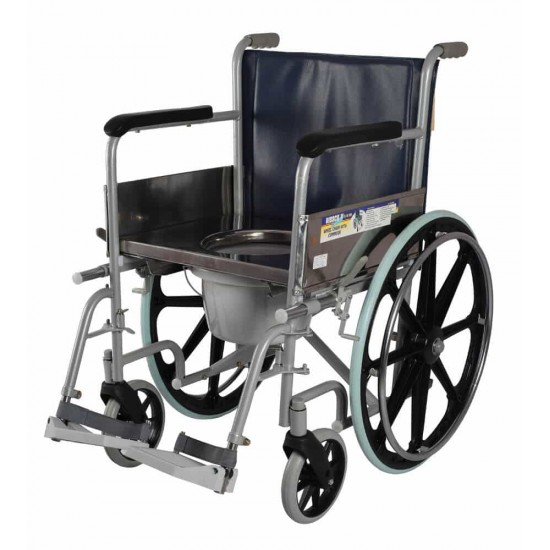 Buy Vissco Comfort Commode Wheelchair With 12799
