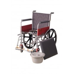 Vissco Invalid Wheelchair with Commode