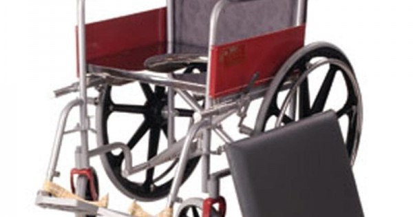 Vissco Invalid Wheelchair With Commode Rs 9869 Wheeled