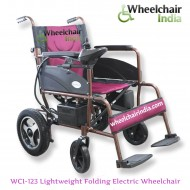 Lightweight Folding Electric Wheelchair WCI-123