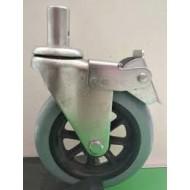 Wheelchair Caster Wheel 5 Inch with Lock
