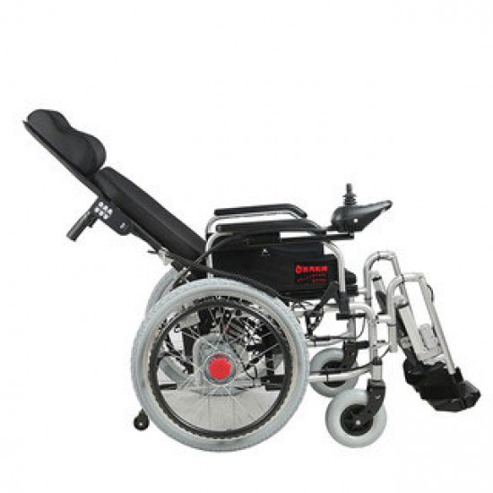 Reclining Power Wheelchair with Elevating Footrests