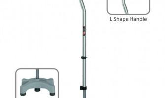 Vissco Avanti L Shape Quadripod Stick