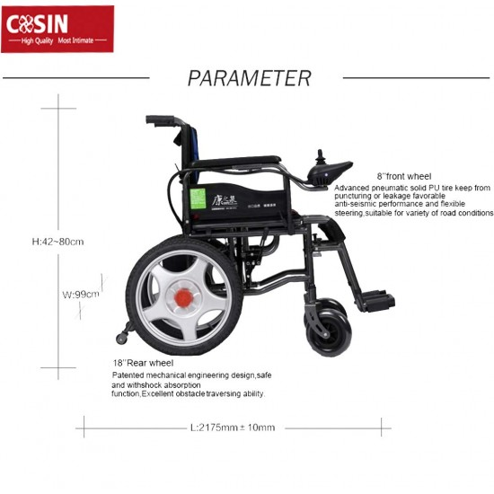 Wheelchair India Electric Wheelchair 180b