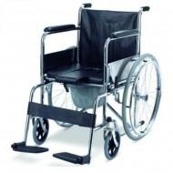 608 Commode Wheelchair