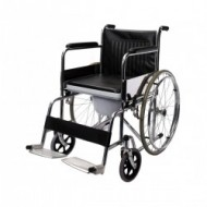 609 Commode Wheelchair