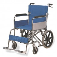 Foldable Attendant Transport Wheelchair