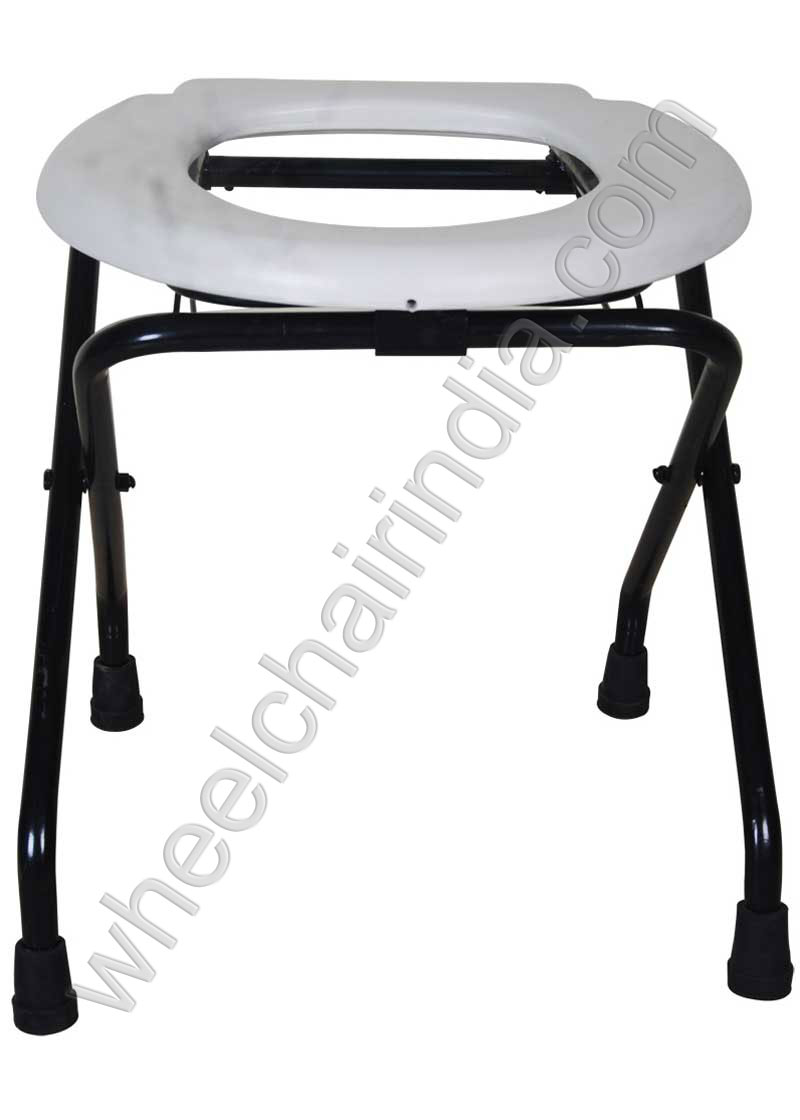 Remarkable Folding Commode Stool Toilet Seat Stand For Handicap Squirreltailoven Fun Painted Chair Ideas Images Squirreltailovenorg