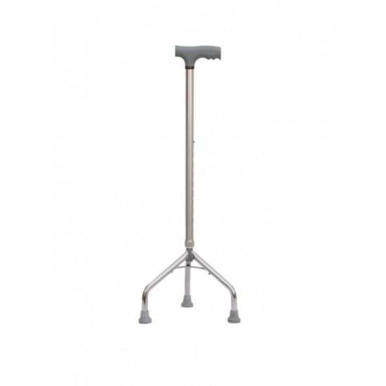 Height Adjustable Tripod Walking Stick