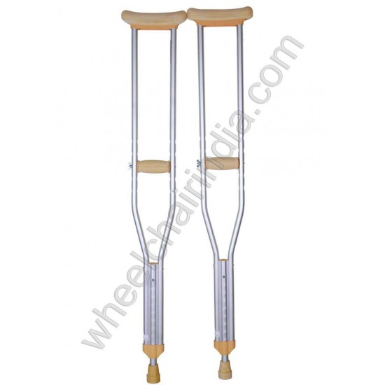 Karma Underarm Aluminium Crutches