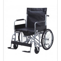 Obesity Commode Wheelchair