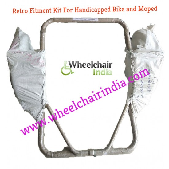 Side Wheel Attachment Kit For Mahindra GUSTO 110