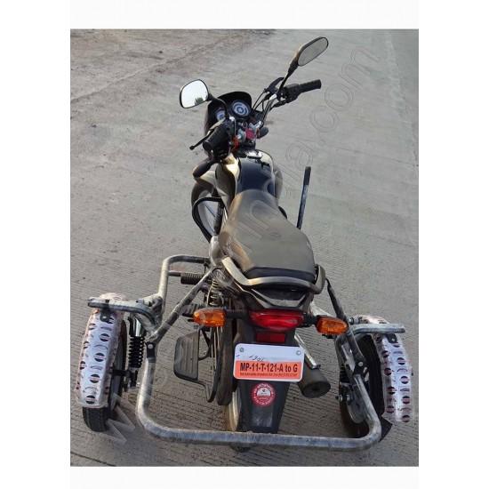 Side Wheel Attachment Kit For Bajaj Platina