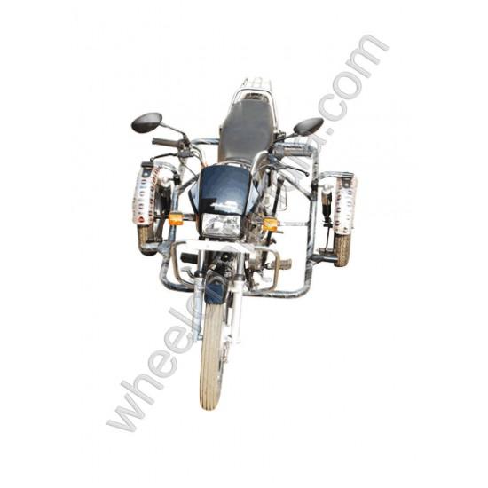 Side Wheel Attachment Kit For Hero Splendor