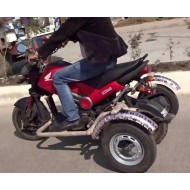 Side Wheel Attachment Kit For Honda Navi Bike