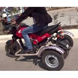 Side Wheel Attachment Kit For Honda Navi Bike