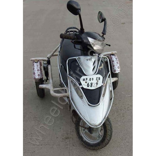 Side Wheel Attachment Kit For Tvs Scooty Pep Plus
