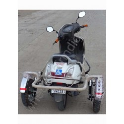 Side Wheel Attachment Kit For Honda Activa 3G & 4G