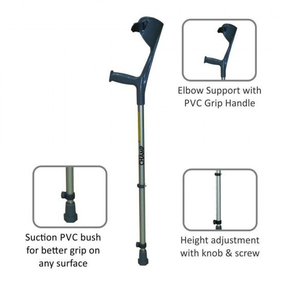 Vissco Astra Max Elbow Crutches